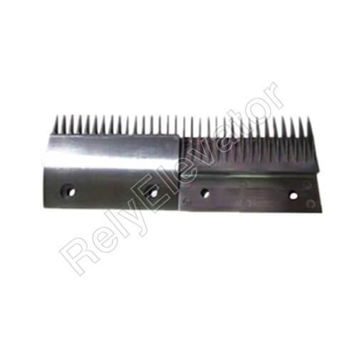2L08779,Sigma Comb Plate,145 X 99mm,16T,Hole Spacing 90,Aluminum,Center,Big