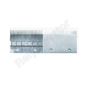 DSA2000904A B,Sigma Comb Plate,197.994 X 139.4 X 6mm,Tooth Pitch 8.466,Hole Spacing 110,23T,Aluminum,Right