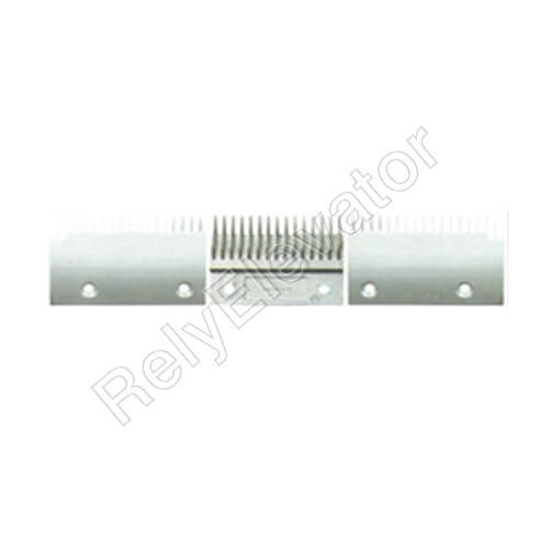 DSA2001559A,Sigma Comb Plate,142.8 X 91.6 X 6mm,Tooth Pitch 8.4,Hole Spacing 90,17T,Aluminum,Center