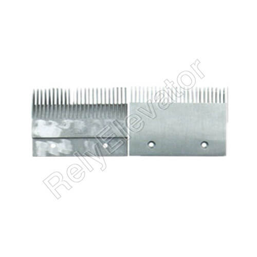 DSAT00C318,Sigma Comb Plate,197.994 X 152.6 X 6mm,Tooth Pitch 8.466,Hole Spacing 110,23T,Aluminum,Right