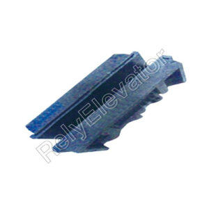 Kone Guide Shoe With Rubber Cushion 130x10mm 16mm