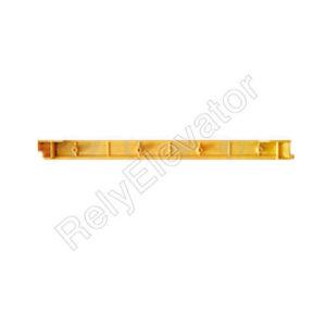 LG Sigma Demarcation Strip DSA2001530-L Length 414mm Yellow Left