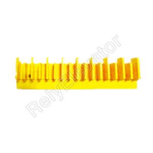 LG Sigma Demarcation Strip L47332128A Length 154mm Yellow