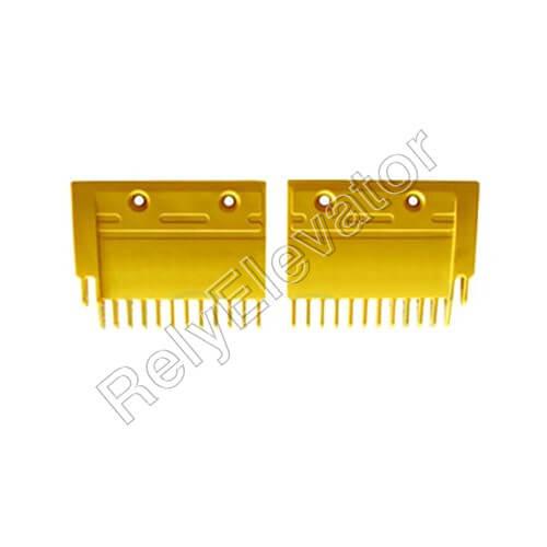 Mistubishi Comb Plate Yellow YS125B688