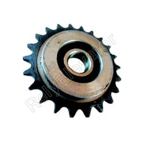 Mitsubishi Handrail Sprocket Single Row Φ94x22x6204 22T