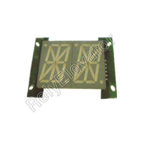 Otis ACA26800AJX1 Display Board