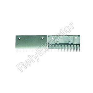 Schindler 9300 Comb Plate 199.4x107mm Black SMR313762