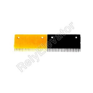 Schindler 9300 Comb Plate 202.9x107mm Yellow 57410420Y