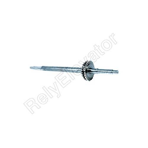 Schindler 9300 Handrail Drive Shaft w Sprocket 1000mm 405621