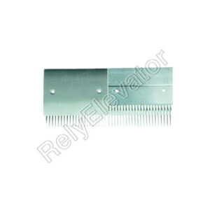 Schindler 9500 Comb Plate 199.4x181.36mm Black Right SLR266423