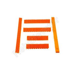 Schindler Demarcation Strip Short 30T Yellow Right STP002B000-02B