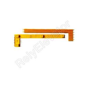 Schindler Demarcation Strip Yellow Left 50626403