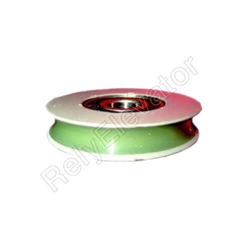 Hitachi Door Roller,Φ65 X 13 X 6202(R-Slot)