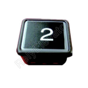 Hitachi Push Button DL-P02 ,Installation Hole Size 41x36