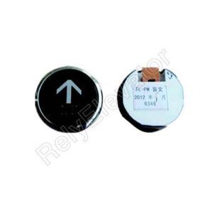 Hitachi Push Button FL-PW Braille