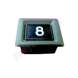 Hitachi Push Button SL-TC,Installation Hole Size 44x35