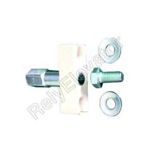 Fermator Panel Guide Shoe Assembly 16mm Track 2 Units