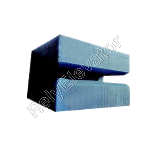 Hyundai Guide Shoe Insert,80 X 50 X 57 X 7