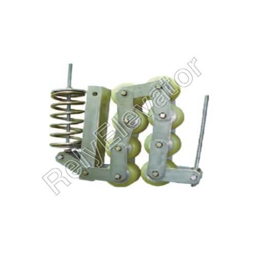 Otis GAA332Z4 506NCE Handrail Support Chain 7 Rollers