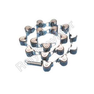 Otis Stainless steel Newel Chain 17 Rollers